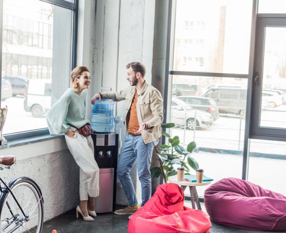 Glass half full: winning ways for better staff hydration